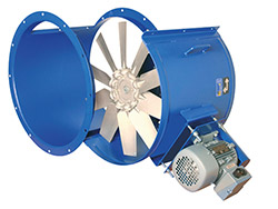 Ventilateur tub. - HHP 45/56<br> 6280 < D m3 < 12030