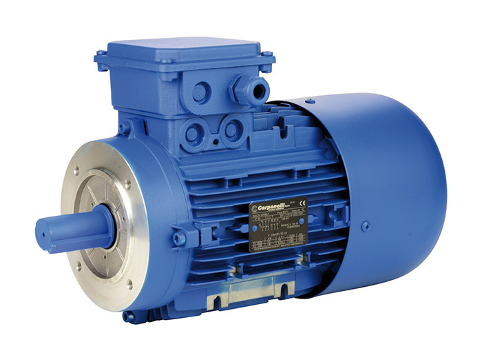 Moteur frein 1000 tr/min - Taille 80 - B14<br> 0,37 kW - Frein courant continu