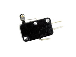 Micro switch contact FASTON - MSW EB<br> A levier court et roulette