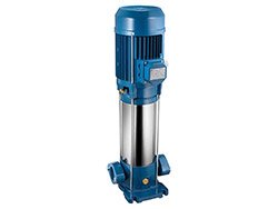 Multicellulaire verticale - IN LINE - P18SL-250/3<br> Triphasée 400 V - Turbine inox - 1,65 kW
